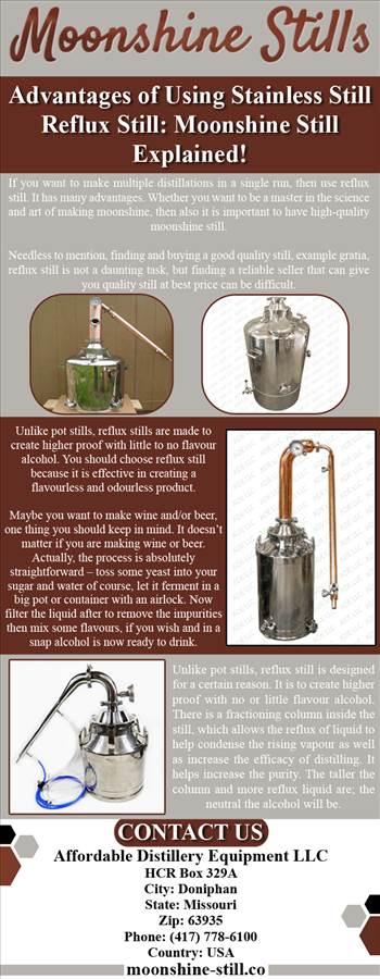 Advantages of Using Stainless Still Reflux Still Moonshine Still Explained!.png by moonshinestill
