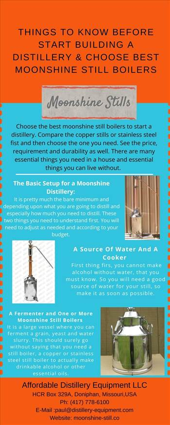 Things to Know Before Start Building a Distillery & Choose Best Moonshine Still Boilers.jpg by moonshinestill