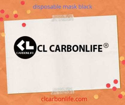 disposable mask black.gif by clcarbonlife
