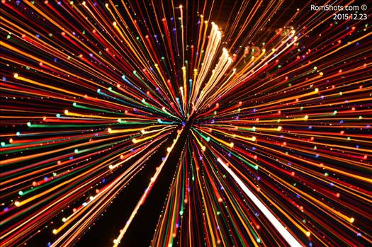 Explosion of Lights by CJ Romberger