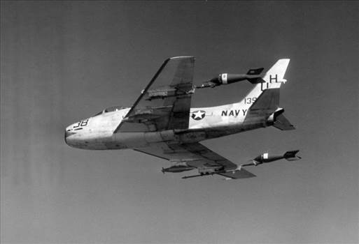 FJ-4_VU-7_with_towed_aerial_targets_1960.jpg by mattsimps