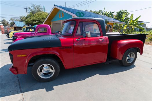 1967 vintage dodge pickup truck by AnnetteJohnsonPhotography