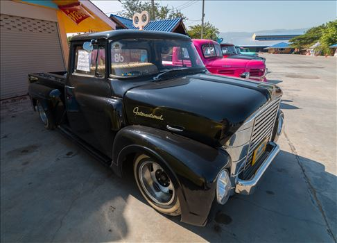 1957  INTERNATIONAL A110 SHORT BED STEPSIDE PICK UP TRUCK by AnnetteJohnsonPhotography