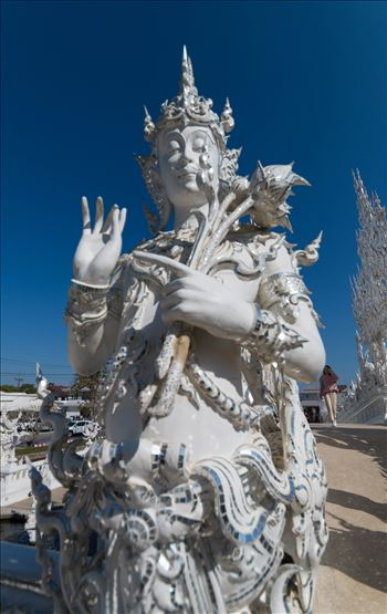 Wat Rong Khun 5 by AnnetteJohnsonPhotography