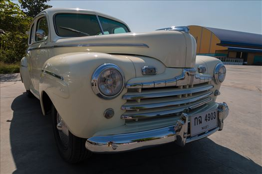 1946 Ford Sedan by AnnetteJohnsonPhotography