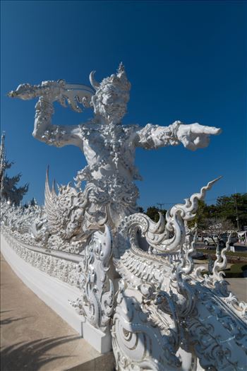 Wat Rong Khun 3 by AnnetteJohnsonPhotography