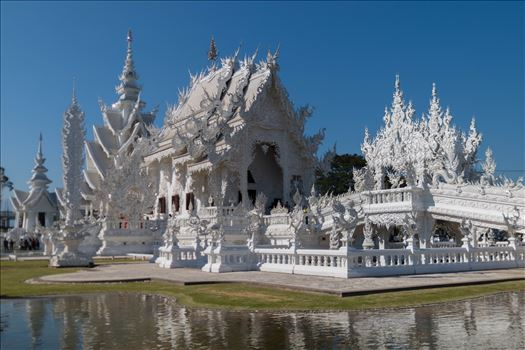 Wat Rong Khun 1 by AnnetteJohnsonPhotography