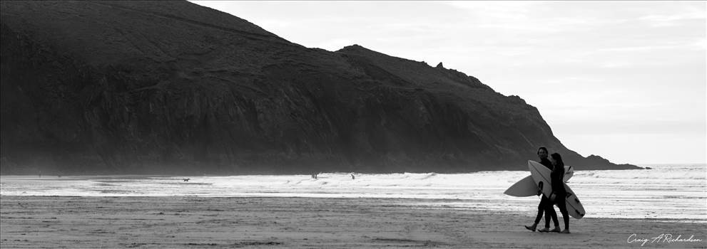 Surfers 2.jpg by Craig A Richardson Photography