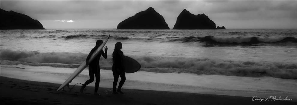 Surfers.jpg by Craig A Richardson Photography