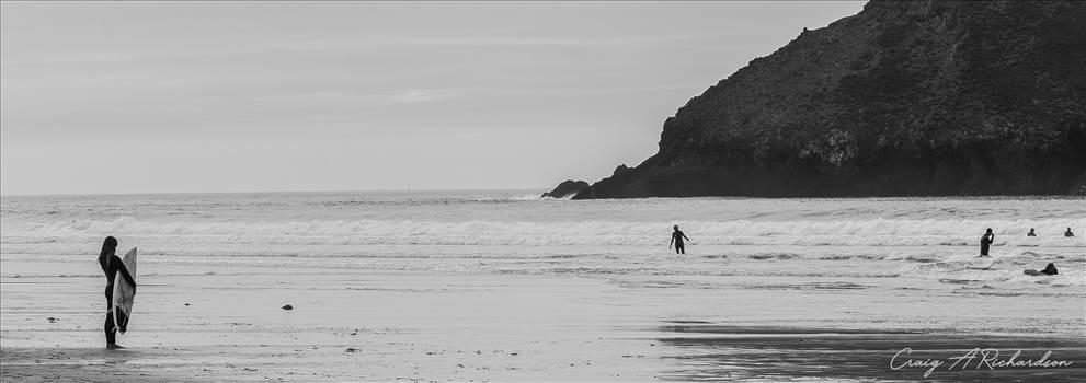Little Surfer Girl.jpg by Craig A Richardson Photography