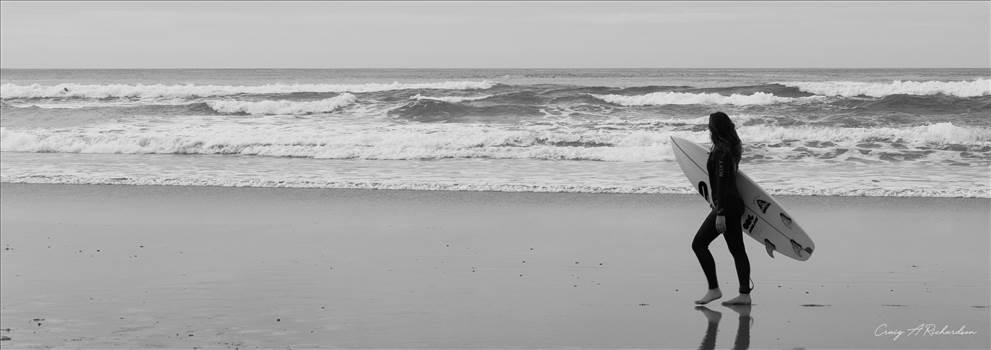 Surfer Girl 2.jpg by Craig A Richardson Photography