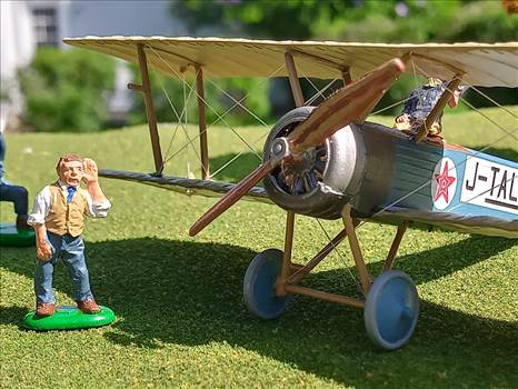Japanese Sopwith Pup (Loire et Olivier built).  J-TALO, unknown owner, mid 1920s  by ScottUehl
