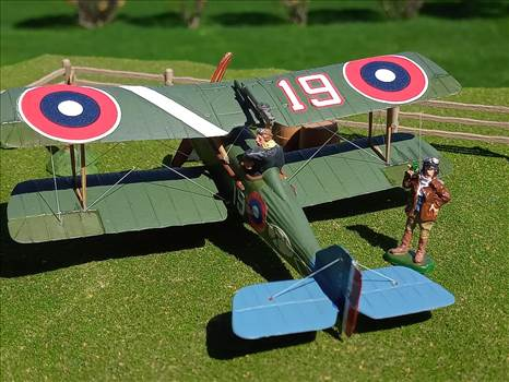 American SE.5a,  25th Aero Squadron, Langley Field 1920, by ScottUehl