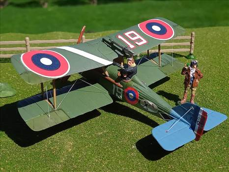 American SE.5a,  25th Aero Squadron, Langley Field 1920 by ScottUehl
