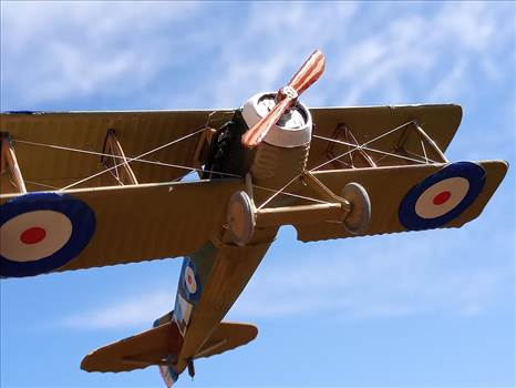 British Spad XIIIC-1, Royal Flying Corps,  No 23 Squadron,  by ScottUehl