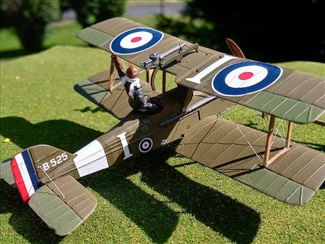 British SE.5a.   Lt Rhys-Davids, 56 Squadron, Estree-Blanche, France 1917 by ScottUehl