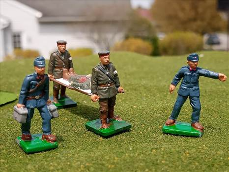 Airfix, HaT, 1/72 scale, figures, WW1, German, Austro-Hungarian, troops by ScottUehl