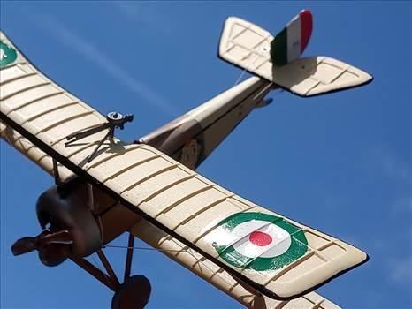 Italian, Nieuport 11, 80 Squadraglia, Sergente Alvaro Leonardi, by ScottUehl