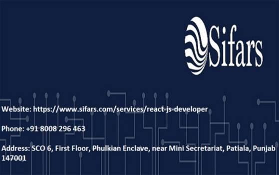 React js developer in Patiala, Punjab.jpg by Sifars11
