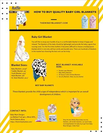How to Buy Quality Baby Girl Blankets.jpg by BabyWantDesigns