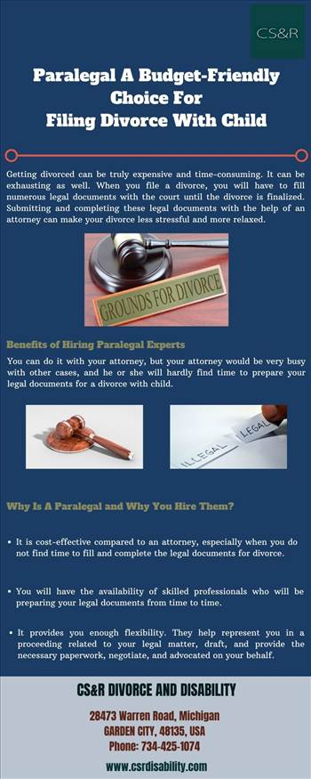 Paralegal A Budget-Friendly Choice For Filing Divorce With Child by csrdisability