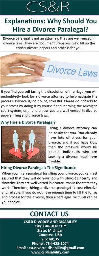 Explanations - Why Should You Hire a Divorce Paralegal.jpg by csrdisability