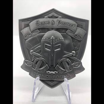 We sell Challenge Coins, Stickers, Flags, Bracelets, Gaiters, and other Police Collectibles and Police Officer Gifts. Come see our unique items and gifts!  CONTACT Police Brand Memorabilia and Collectibles  P.O. Box 418 Malden, MO Telephone: 573-990