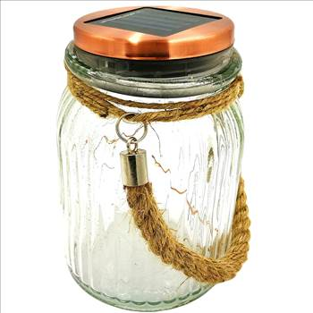 Solar Jar Lights Outdoor Lids for Mason Jars Hanging Lantern 4 Color 8 LED Copper Wire Home Decor 2018 of The Day Sogrand Rope Hanger Copper Light Lid   Decorative Lamp for Patio Garden  jar decorations solar lanterns solar jar lights jar light ha