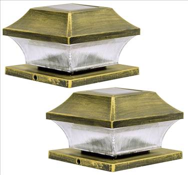 These heavy duty deck solar post lights can withstand a wide range of weather conditions, including rain snow, wind, and hot or cold temperatures.  solar post cap lights 4x4 5x5 6x6 bright led waterproof solar post lights outdoor 4x4 5x5 6x6 bright led