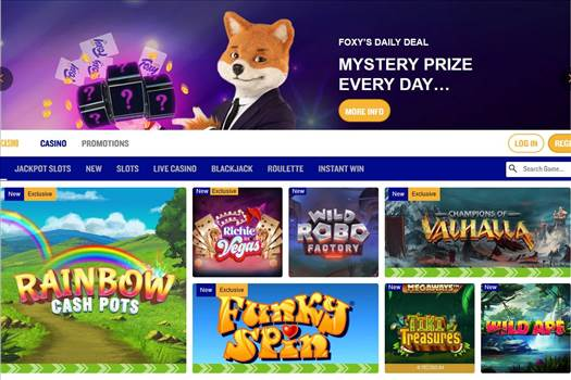 Foxy Games believe that all guests deserve an unrivalled gaming experience that they won't forget. Read customers review for further information.   Visit here:- https://casinopokerreviews.com/business/foxy-casino/