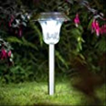 Sogrand Solar Garden Lights Outdoor Decorations Stakes Pathway Decorative Stainless Steel Stake Light Bright Dual Color LED Landscape Decor Waterproof Yard   Lamp For Outside Walkway Patio 4Pack solar path lights solar walkway lights solar yard light
