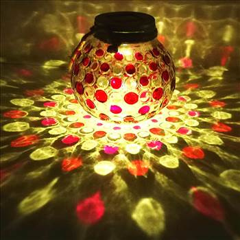 Have great fun and enojy an amazing outdoor hanging solar lights glass jar.and eye-catching pattern.High quality solar lights products at Amazon you can get more at our Sogrand Store.. Please search targeted keywords on amazon.. Order now from Sogrand Sto