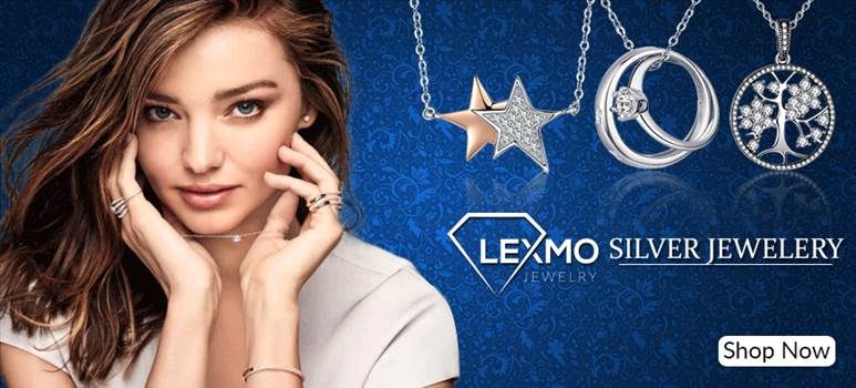 Buy Silver Jewellery Online, silver necklace and silver earingsin UK. Get 100% only genuine silver products with cheap price at lexmo.co.uk.  Visit here:- https://lexmo.co.uk/