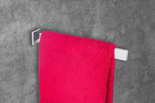 Gedotec Design Handtuchstange 1-armig Wand-Handtuchhalter einarmig eckig für Bad - WC und Toilette - Modell Lumina   Länge 325 mm   Chrom poliert   1 Stück - Handtuchreling inkl. Befestigungsmaterial  Besuche hier:-https://www.amazon.de/Gedotec-Handtuch