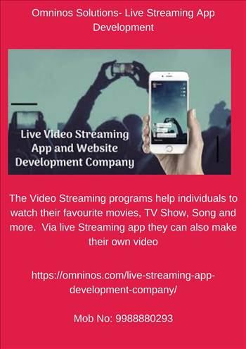 Omninos Solutions- Live Streaming App Development.jpg by amritkaur