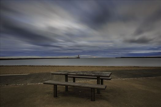 Roker Seafront - Seat with a view