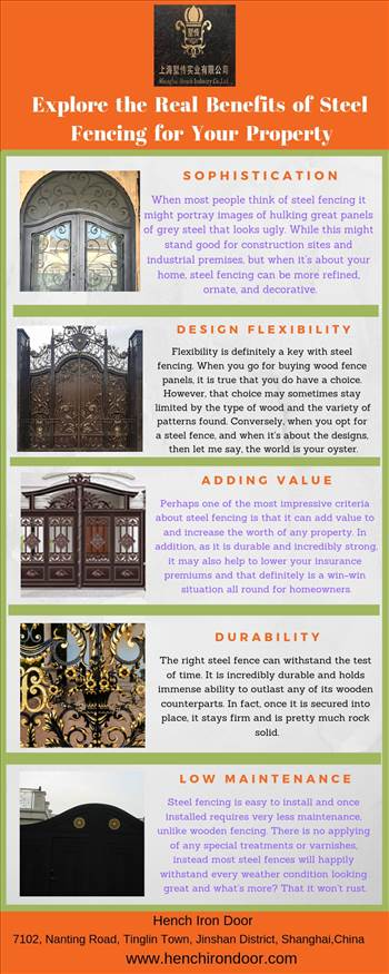 Explore the Real Benefits of Steel Fencing for Your Property.jpg by Henchirondoor