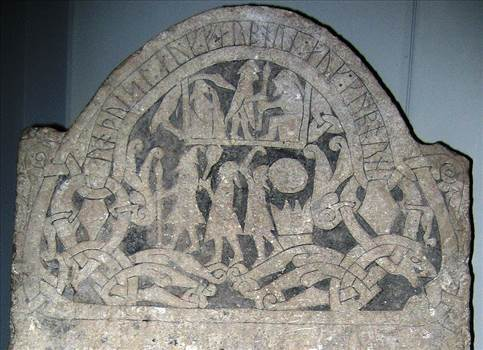Ancient-Runestone-with-Odin-Thor-and-Freya.png by Charbonne