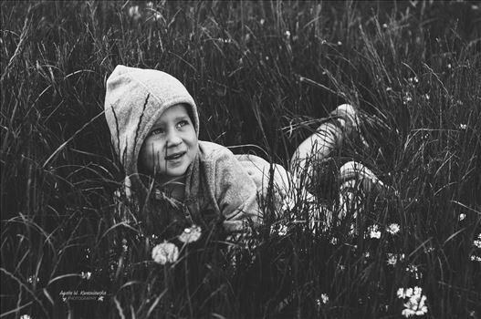In the grass by Agata W. Kwasniewska Photography