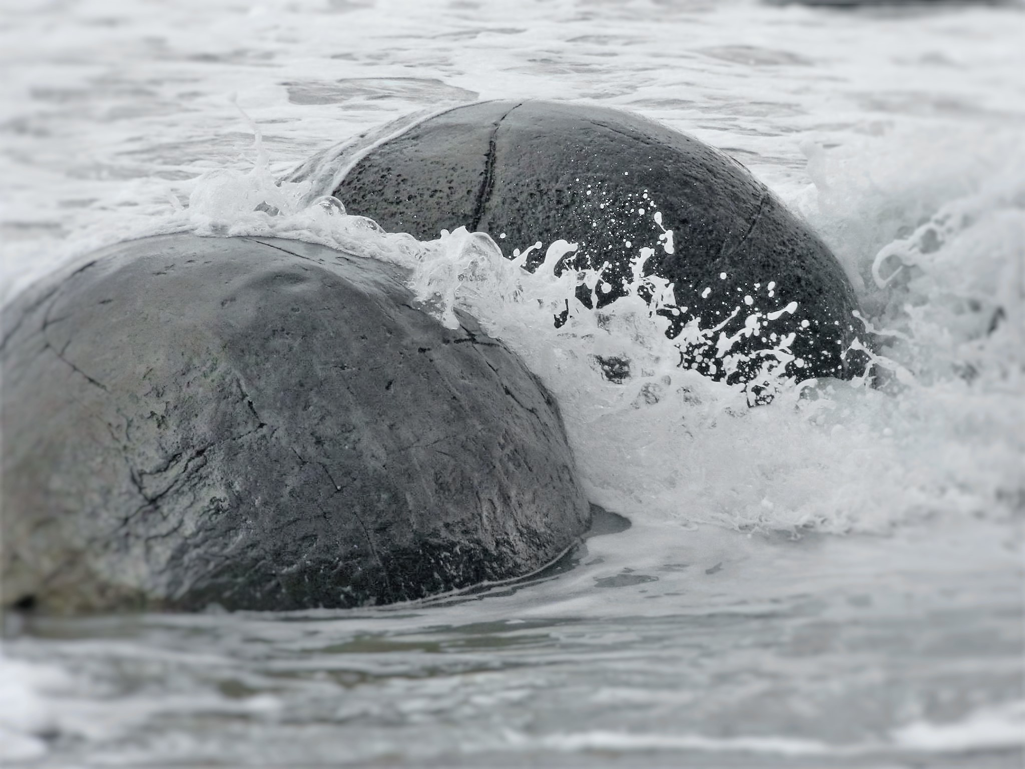 Splashing boulders  by Lewis & Co. Photography