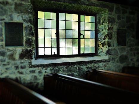 Church Window. -