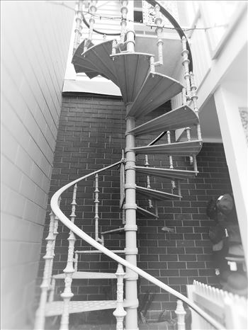 Spiral stairs by Lewis & Co. Photography