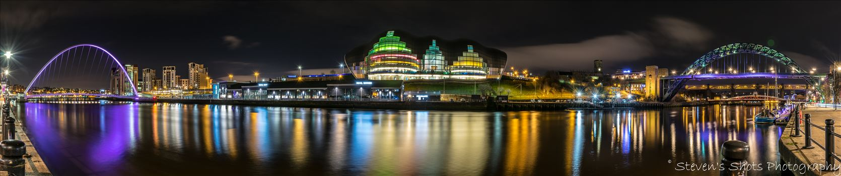 Panoramic of the quayside by Steven's Shots Photography