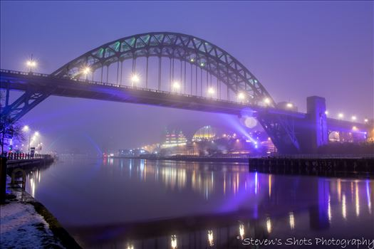 Colour Foggy Tyne Bridge with Sage 6.3.18.jpg by Steven's Shots Photography