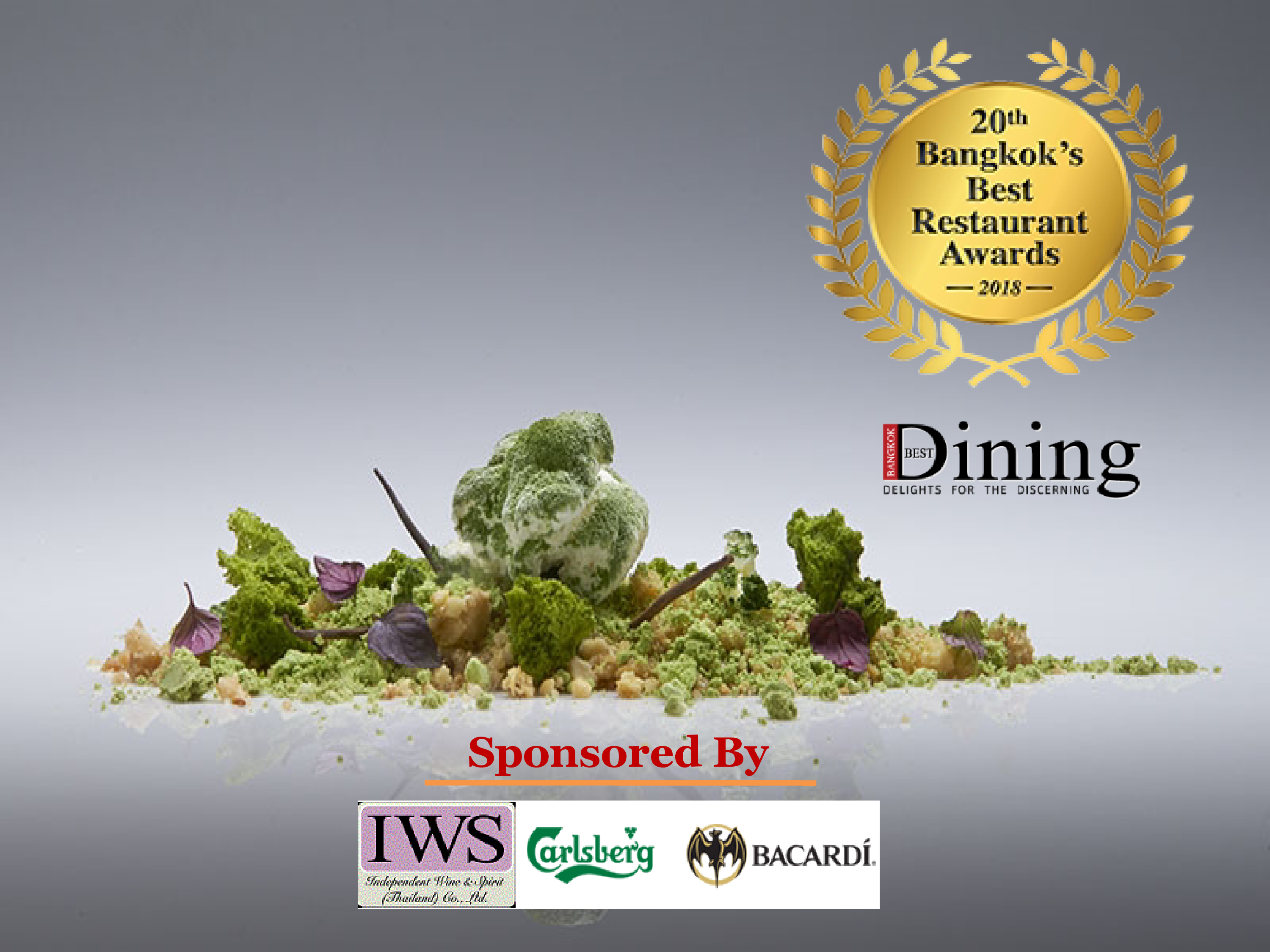 20th Bangkok's Best Restaurant Awards 2018 The 20th Bangkok's Best Restaurant Awards will be held at the Grand Ballroom of Shangri-la Hotel on June 11 , 2018 and is brought to you by the publishers of Bangkok's Best Dining & Entertainment magazine. Visit http://www.bangkokbestdining.com.