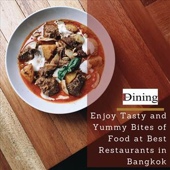 Grand and Inspiring Dining Ambience at Bangkok by bangkokbestdining