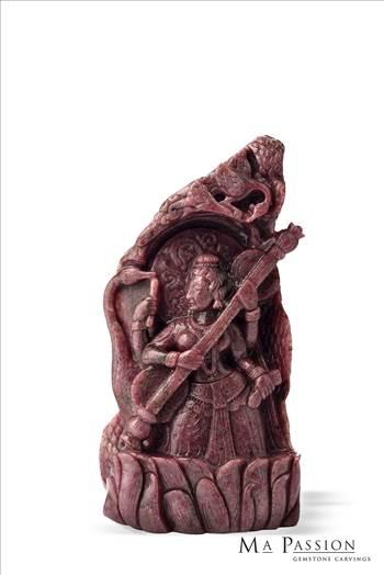 Saraswati-Statue.jpg by mapassionart