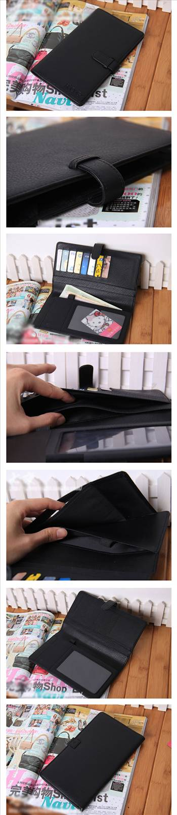 LARGE PU LEATHER WALLET PASSPORT HOLDER.jpg by luce2339