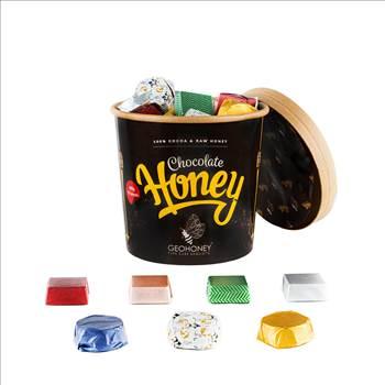 Dark Honey Chocolate – World Best Honey-450gm-50pcs.jpg by geohoney