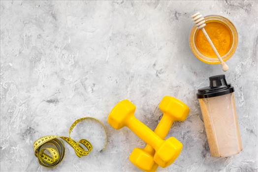 Supercharge your workout regime with honey.png by geohoney